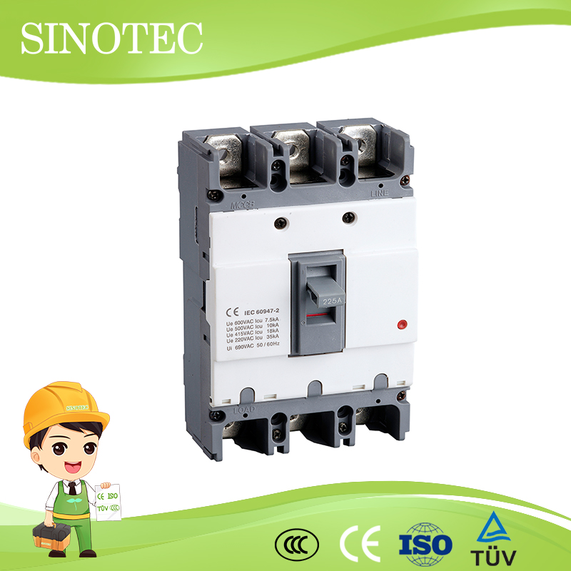 Abs enclosures for electronic abs circuit breaker abs abe type circuit breaker200a 400a electrical mccb
