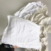 White Colored Knitted or Polo Cotton Rags