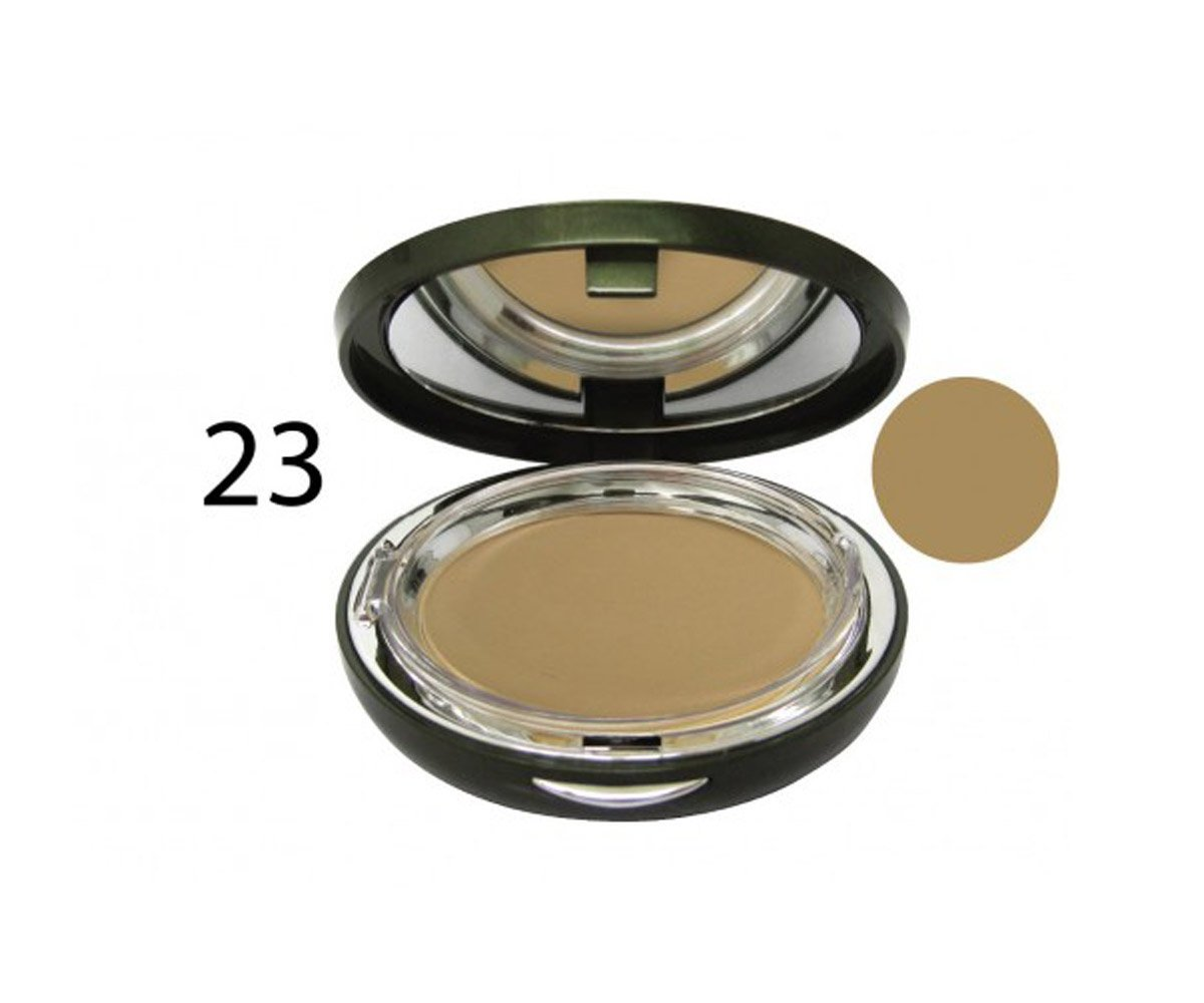 Gowa Perfect Cover Essence Powder Pact for Brightening 12g (Medium and Tan Skin, Color 23)