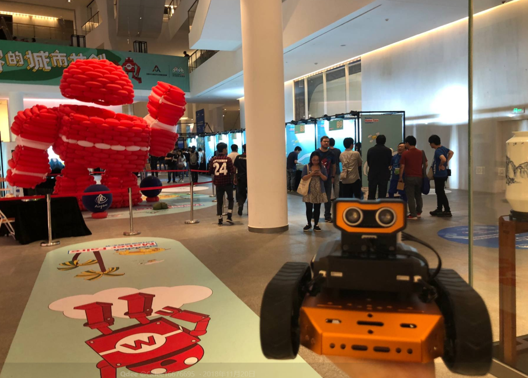 Ensemble de soutien-gorge Robot Programmable Water Education Hiwonder avec programme logique / PC / sciage, servo et soutiens-gorge en métal