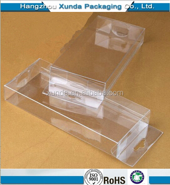 2019 Plastic folding box custom PET/PVC/PS folding box