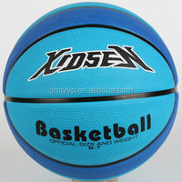 Xidsen,Qianxi Rubber 9 panels Basketball size 7,Navy blue,super grips,embossed logo