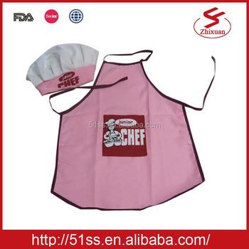 Katun Grosir Anak-anak Celemek Dan Topi Chef Dapur Seragam - Buy ... 0ea99c709a
