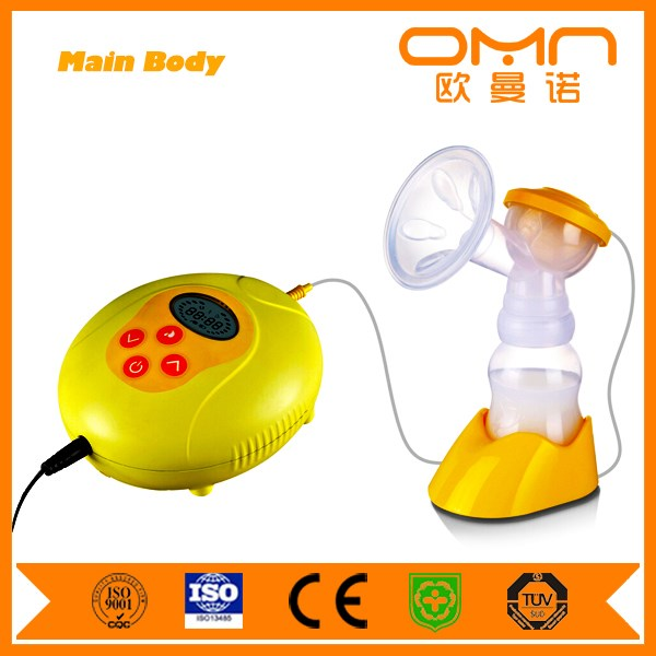 Cheap OEM Double comfortable and pain free Baby Feeding breast pump