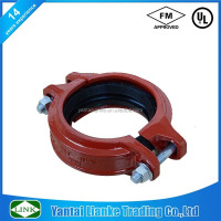 ductile iron sand casting shoulder rigid flexible coupling joint