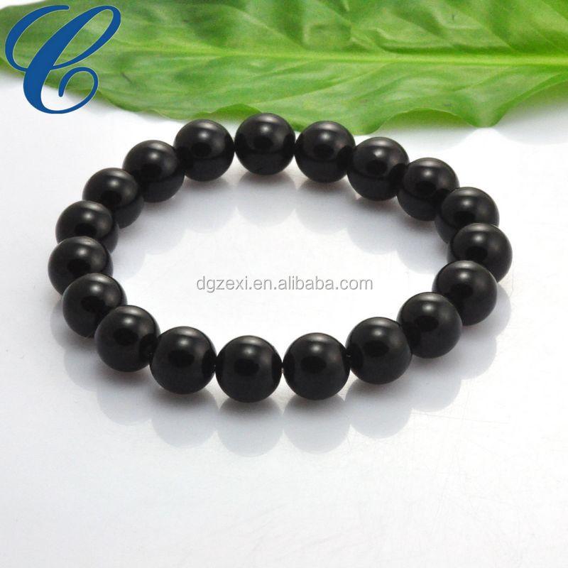 Accept Customized Logo Plastic Bracelet Mens Bead Bracelets China