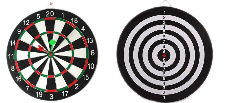 Lovely Dart Board With Soft Safety Darts   Great Games For Kids And Leisure Sport  For Office