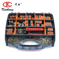 Kinkong Multi Function Box DT Connector Kit Replacement Automotive Connector With Hand Tool Pliers