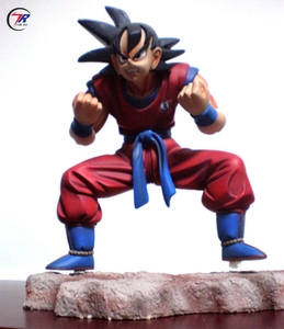 Custom Service Fairy Life Size Dragon Ball Goku Resin Figures Statue