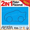 RENJIA silicone placemat for hotels baby silicone placemat plate silicone placemat set