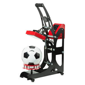 Automatic Open Football Logo Heat Transfer Vinyl Printing Sublimation Heat Press machine for Ball Logo