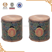 chinese antique oriental drum stool for indoor