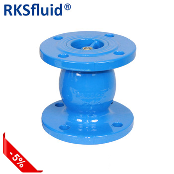 Combination Air Release Degassing Card Valve Viton Flange 4 CPVC