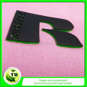 1mm Thick 3d Silicone Heat Transfer Printing Labels For