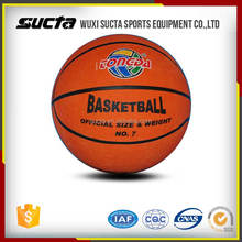 Good quality cheap price small rubber basketball wholesale