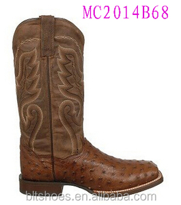 Men high quality cowboy boots for new design
