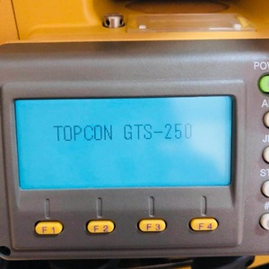 Used topcon total station GTS252 total station