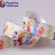 New production custom 100% polyester 2.5 cm frozen princess grosgrain printed ribbon