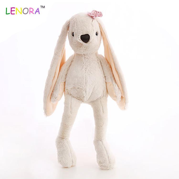 卸売クレーンマシン子供プロモーションギフト動物のおもちゃ人形ぬいぐるみ巨大バニーぬいぐるみ枕長い耳ウサギのおもちゃ弓