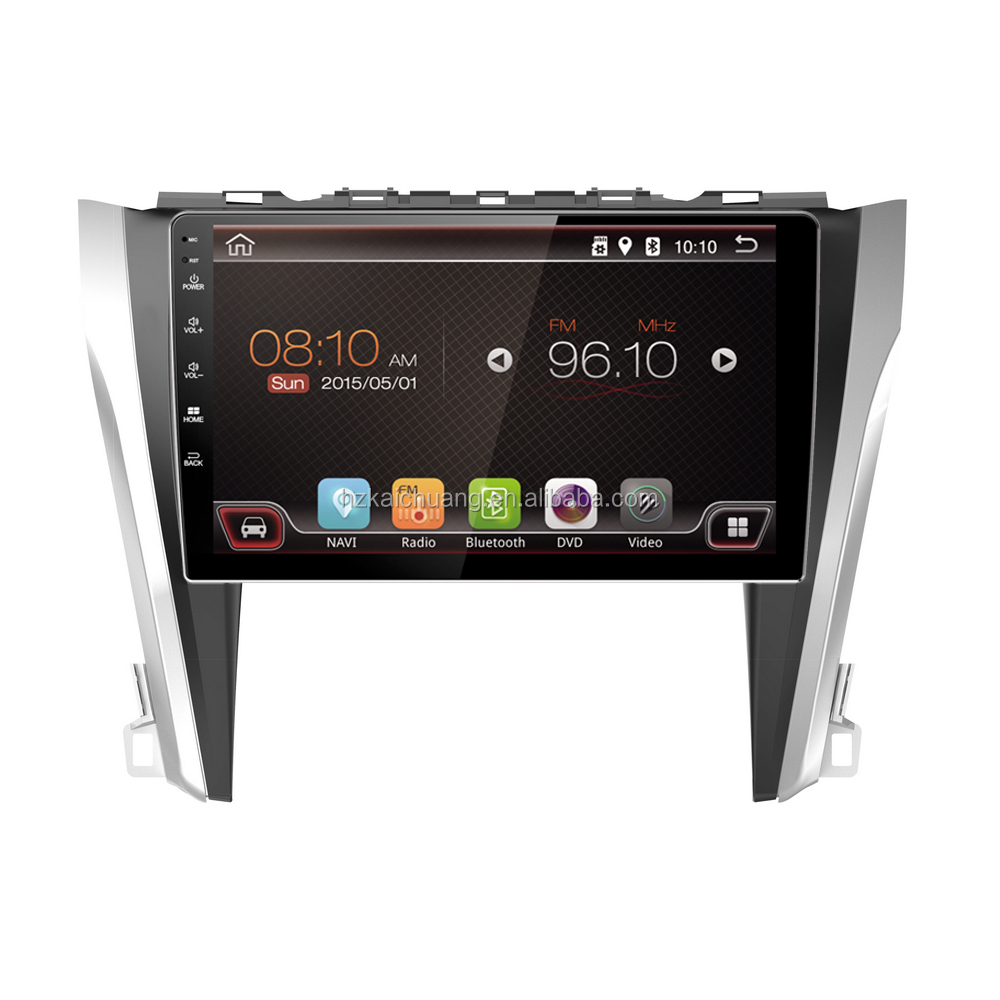 Car Stereo Navigation Radio with Colorful LED and Rear Camera Input for Route Navigation