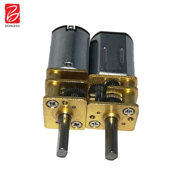 5v 6v 12v reduction gear box reducer 60 rpm micro metal worm gear motor