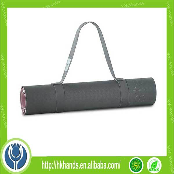 Go Yoga All-Purpose 1/2-Inch Extra Thick High Density Anti-Tear Exercise Yoga Mat with Carrying Strap