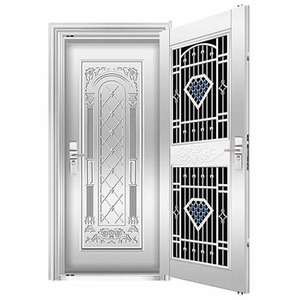 High quality design cheap Turkey style stainless security steel door