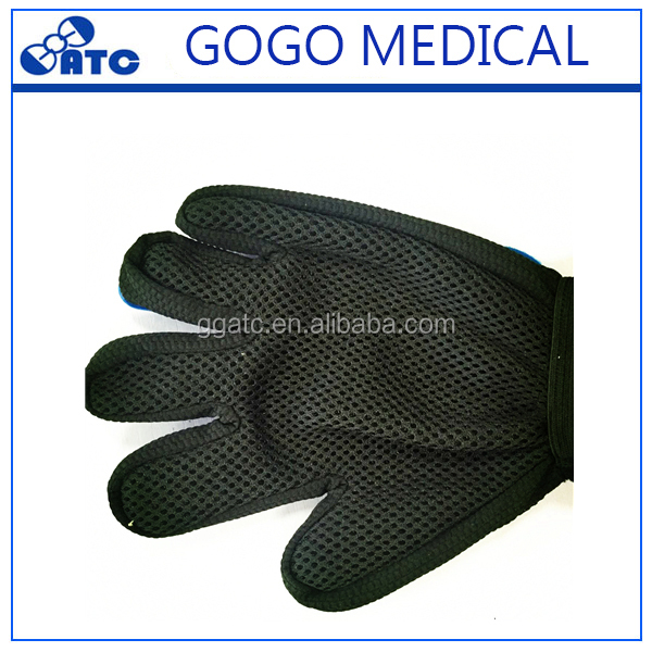 GG Brand for pet dog and cat grooming brush glove,pet glove grooming with two material and lowest price