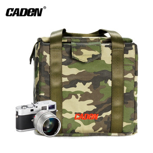 Camouflage military style DSLR Camera insert inner bag for Nikon/Canon