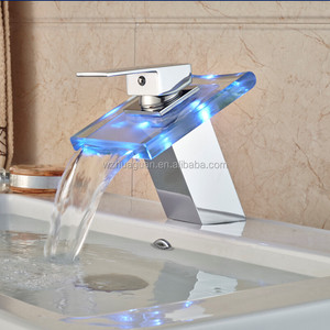 2016 New Fashion Style LED Waterfall Faucet