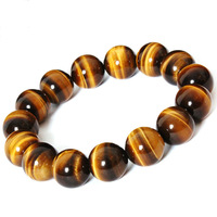 6MM-16MM Fashion tiger eye stone bracelet for men jewelry wholesale N81060