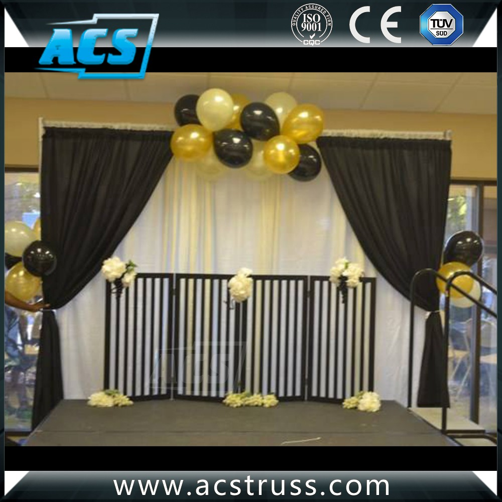 detail product supplies pipe and drapes backdrop vintage drape wedding marriage decoration