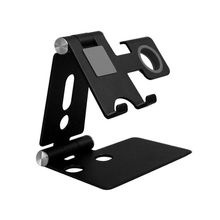 Upgraded Foldable Aluminum Cell Phone Holder for Apple Watch iPhone