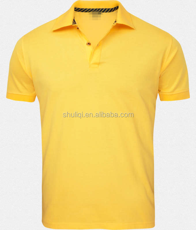Wholesale High Quality 100 Cotton Blank Polo T Shirt