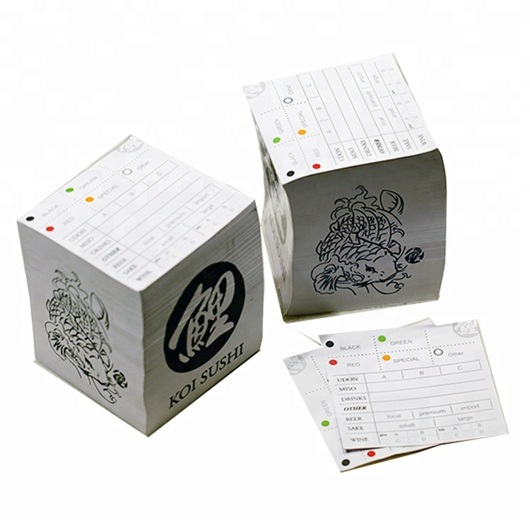 Customized professional good price paper note book with best service