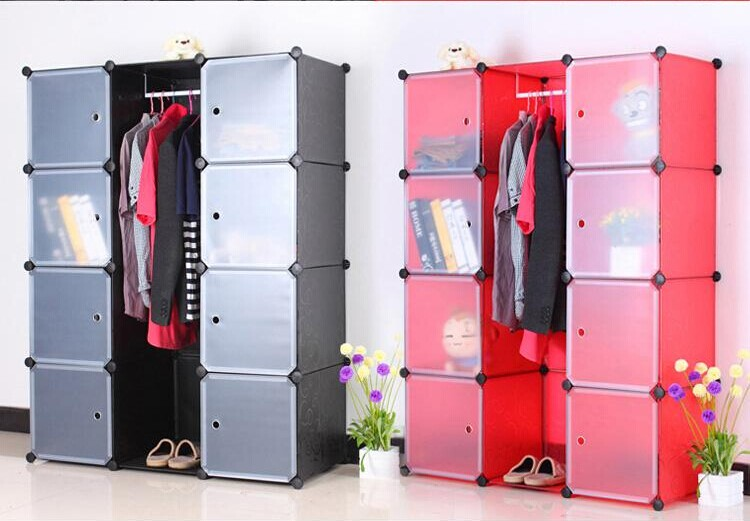 Diy Modular Cube Storage Cabinet System Rack Shelf Wardrobe Box ...