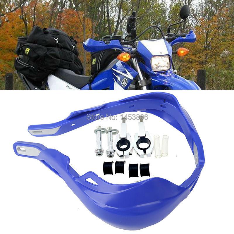 Синий ATV рукавицы 22 мм и 28 мм широкие полосы 1 - 1/8