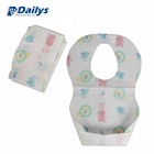 Printed paper bibs disposable baby bibs No obligation required