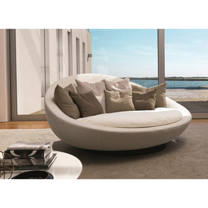 Modern Fabric Round Sofa Chair,Modern Round Sofa,Outdoor Round Sofa Bed