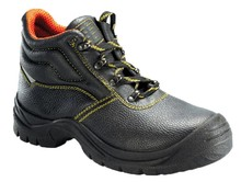 NMSAFETY oil resistance men's safety shoes plastic toe cap S3 standard