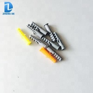 Customized hollow drop-in plastic expand plug wall anchor, screw plug