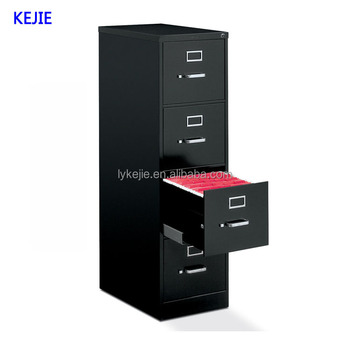 Best Office Furniture A4 Size Drawings Steel File Cabinet Single Hanging 4 Drawer Price