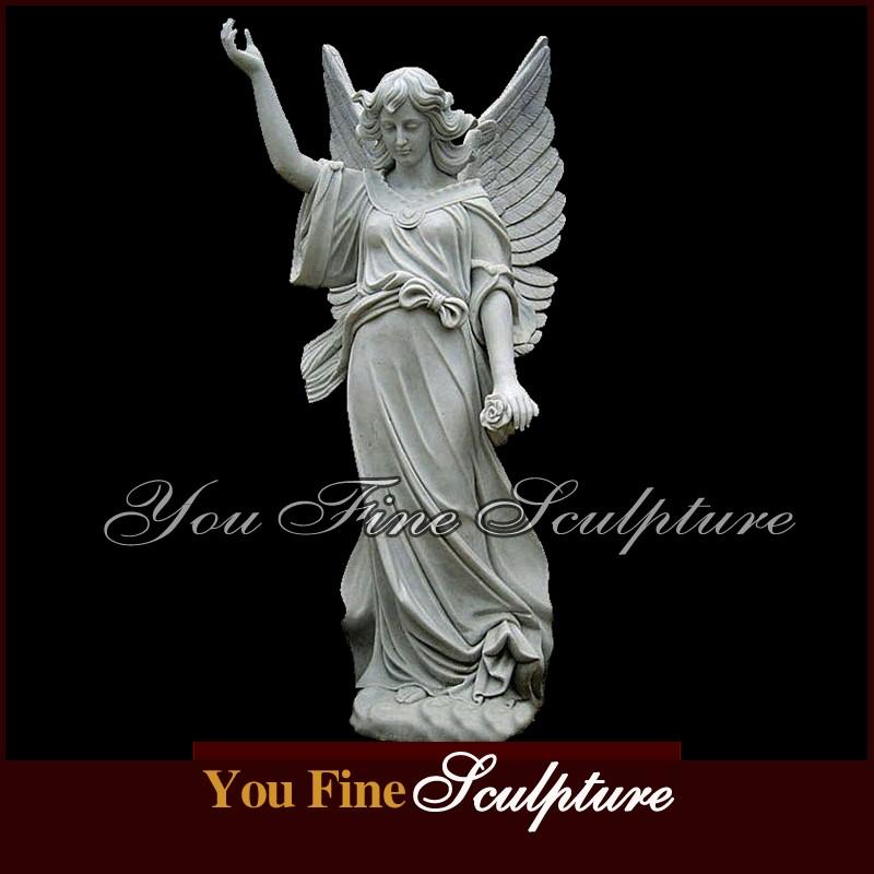 500222e72 Outdoor Garden Greek Marble Beautiful Guardian Angel Sculpture - Buy ...