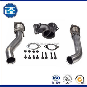 For 99-03 Ford 7 3L Powerstroke Turbo Diesel with Hardware Bellowed Up Pipe  Kit