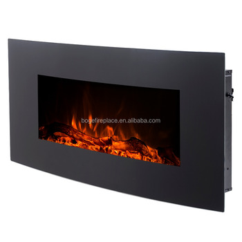 Enjoyable 36 Curved Wall Mounted Freestanding Electric Fireplace Heater With Remote Control 1500W 5100Btu View 5100Btu Electric Heater Boge Product Details Download Free Architecture Designs Scobabritishbridgeorg