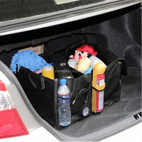 Outdoor Folding car and track organizer storage bag