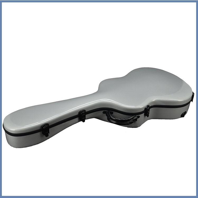 Beatiful Line Type Fiberglass Acoustic Guitar Case