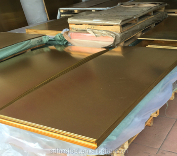Bronze Sheet Astm H90 Price For Hammered Brass Sheet