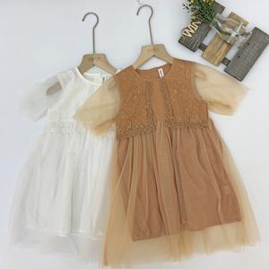 Girl wedding wear  flower lace dresses baby girl party dress children frocks designs party girls dresses
