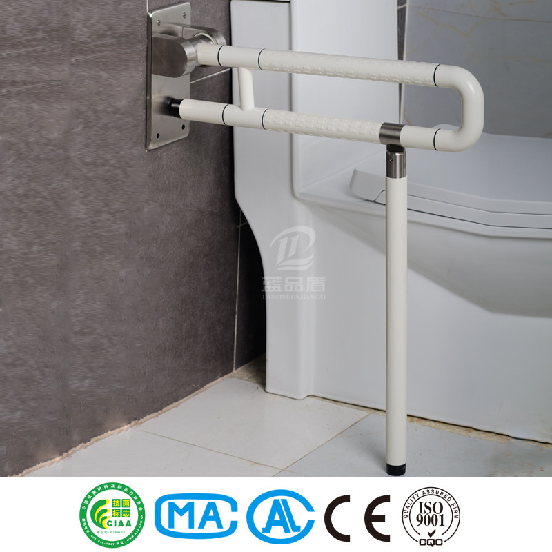 Bathroom anti bacterial high quality auto assist grab bar for disabled